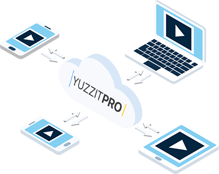 YuzzitPro store all your video files in one place